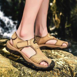 CHAUSSURES DE RANDONNÉE Mode Hommes Chaussures de randonnée en cuir Flats