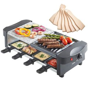 BARBECUE DE TABLE  Appareil à Raclette -Grill + Raclette - Thermosta