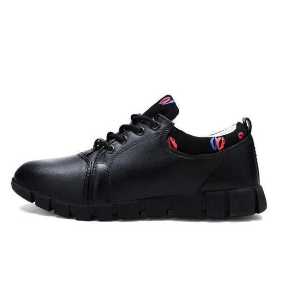 Chaussure De Trail Femme Absorbeur De Choc Douceur Anti-DéRapant D'éTé Un Amorti Dexterity Noir Noir - Achat / Vente chaussures multisport
