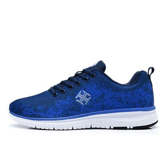 Baskets Chaussures décontractées pour homme Chaussures de sport Chaussures Bleu Bleu - Achat / Vente basket