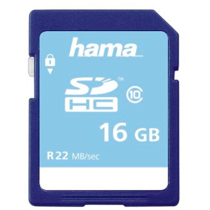 HAMA 00104367 - Carte mémoire - 16 GB