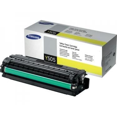 SAMSUNG Cartouche de toner CLT-Y505L/ELS - Jaune - Capacité standard 3.500