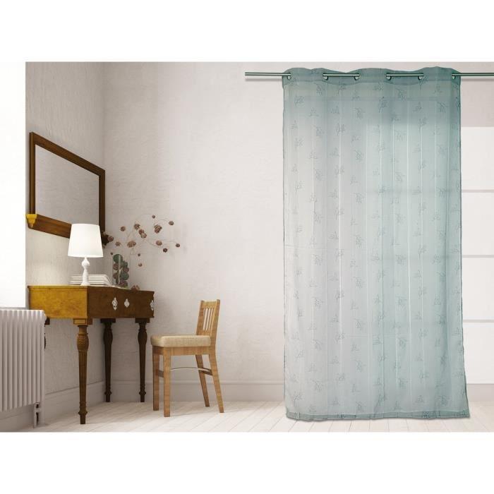 Matière : 100% polyester - Dimensions : 140x240 cm - Coloris : grisVOILE - VOILAGE