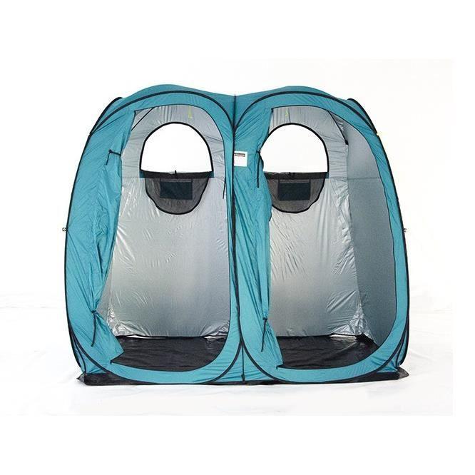 Pop Up Camping Tente De Douche Imperméable Chambre Double