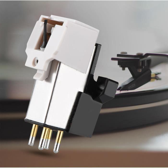 Stylet En Vinyle À Cartouche Magnétique Avec Aiguille Lp Pour Lecteur Tourne-disque