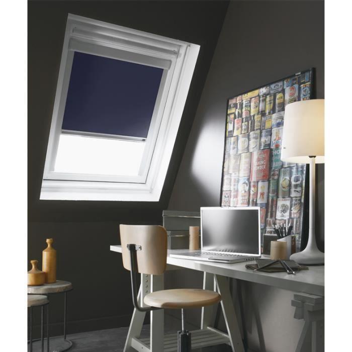 Store De Fenêtre De Toit Occultant Bleu Velux C02c04 L55 X H98