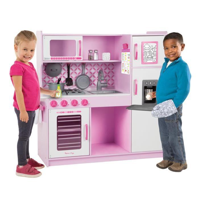 cuisine melissa doug achat vente jeux et jouets pas chers. Black Bedroom Furniture Sets. Home Design Ideas