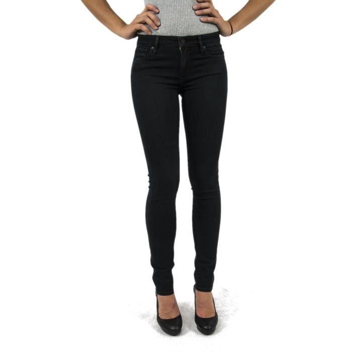 8fc61c0140a Jeans levis femme noir - Achat   Vente pas cher