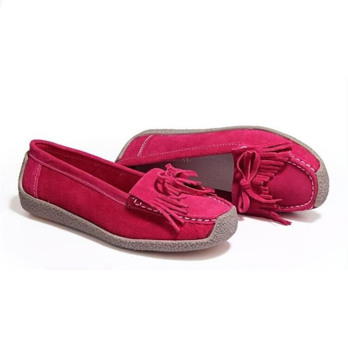 Loafers Femme Nouvelle arrivee Classique Rétro Loafer Confortable Meilleure Qualité Elégant Hiver Chaussure Chaud Durable Mode 35-40