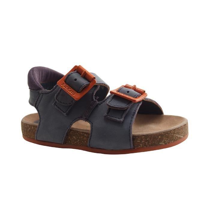 Chaussures Kickers Nanti bleues Casual garçon 2DbIZv