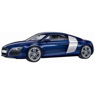 vehicule miniature audi r8 coupe bleu 1 43 schu achat vente voiture construire cdiscount. Black Bedroom Furniture Sets. Home Design Ideas
