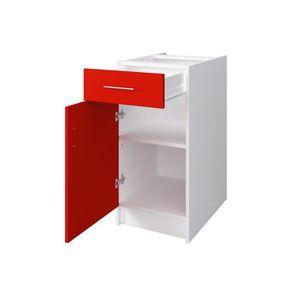 meuble cuisine bas four avec tiroir achat vente pas cher. Black Bedroom Furniture Sets. Home Design Ideas
