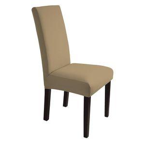 housse dossier de chaise achat vente housse dossier de chaise pas cher cdiscount. Black Bedroom Furniture Sets. Home Design Ideas