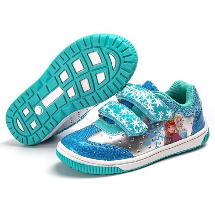 Enfants Chaussures baskets filles velcro Chaussures de sport