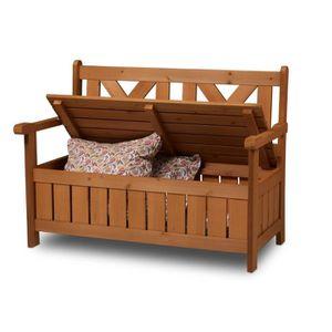 banc de jardin avec coffre de rangement achat vente banc de jardin avec coffre de rangement. Black Bedroom Furniture Sets. Home Design Ideas