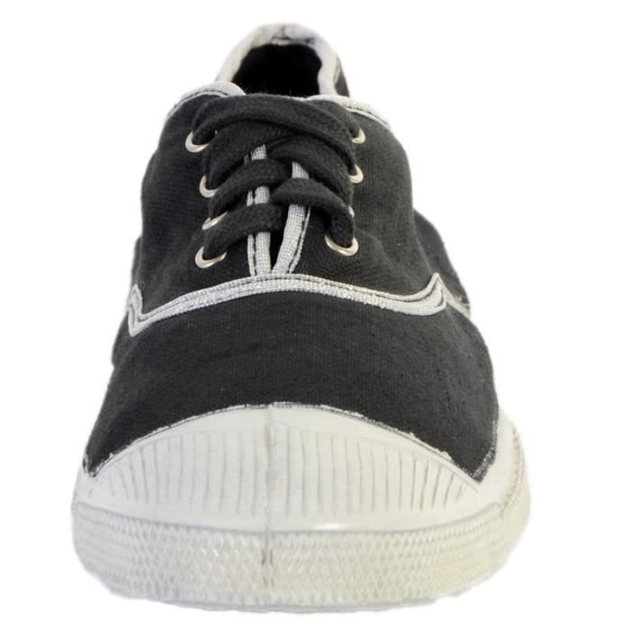 Tennis Bensimon Shinnypiping 8016 Argent/Carbone