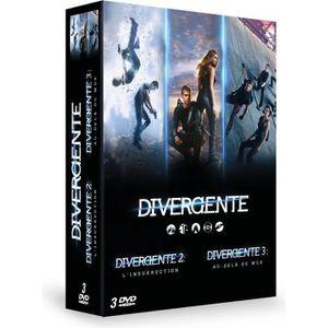 DVD FILM DVD pack Divergente - Coffret : Cinq destins, un s