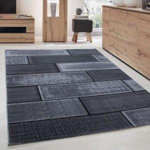 TAPIS Tapis de salon moderne designe brique courte pile