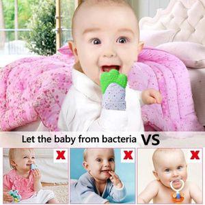 e67147a9c027 ANNEAU DE DENTITION 1 pcs Moufles Gant de dentition bebe,Baby Mitten a