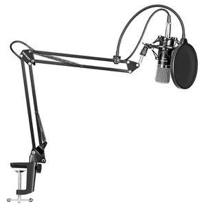 HAUT-PARLEUR - MICRO Microphone à Condensateur Professionnel Enregistre