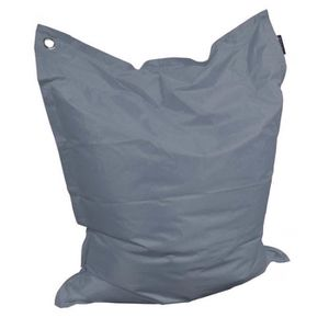 COUSSIN Grand coussin uni Maxi Gris Anthracite
