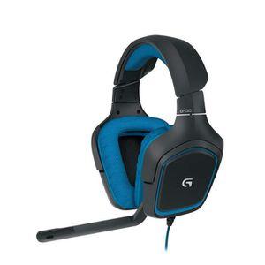 CASQUE AVEC MICROPHONE Logitech G430 Casque Gaming pour PC, PS4, Xbox et