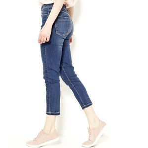 JEANS Camaieu - Jean skinny femme cropped taille haute D