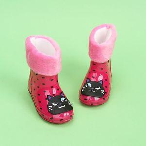 BOTTE Les bottes imperméables en caoutchouc imperméables