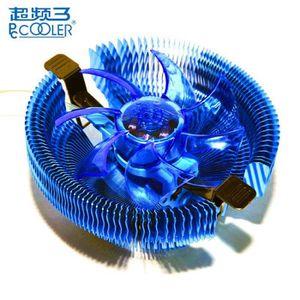 VENTILATION  Agrafeuse  PCCOOLER E92F 90mm 4 LED bleu ventilate