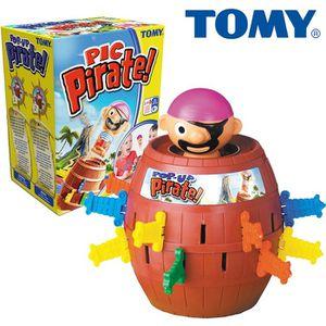 JEU SOCIÉTÉ - PLATEAU TOMY Pic'Pirate
