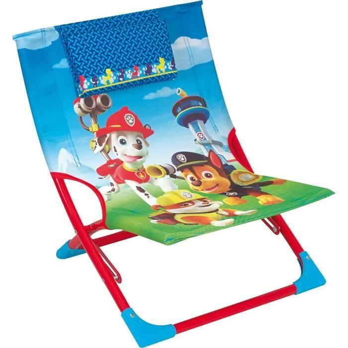 PAT PATROUILLE - Chaise longue