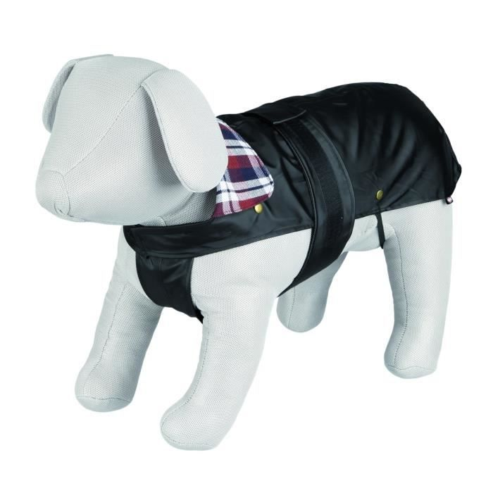 TRIXIE Manteau Paris S: 36 cm noir pour chien