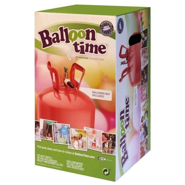 BALLON DÉCORATIF  RIETHMULLER Bonbonne d'Hélium Jetable pour 30 ball