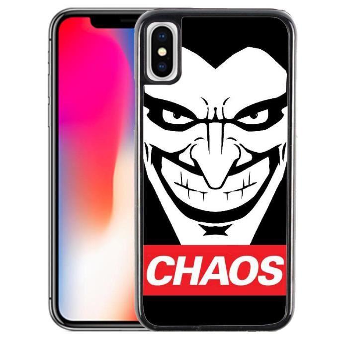 coque joker iphone x