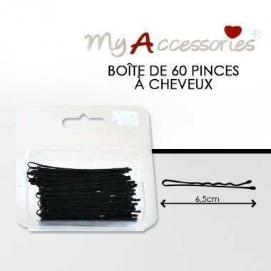 bébé trouver le prix le plus bas 100% de satisfaction My accessories - Boîte de 60 pinces à cheveux -… - Achat ...