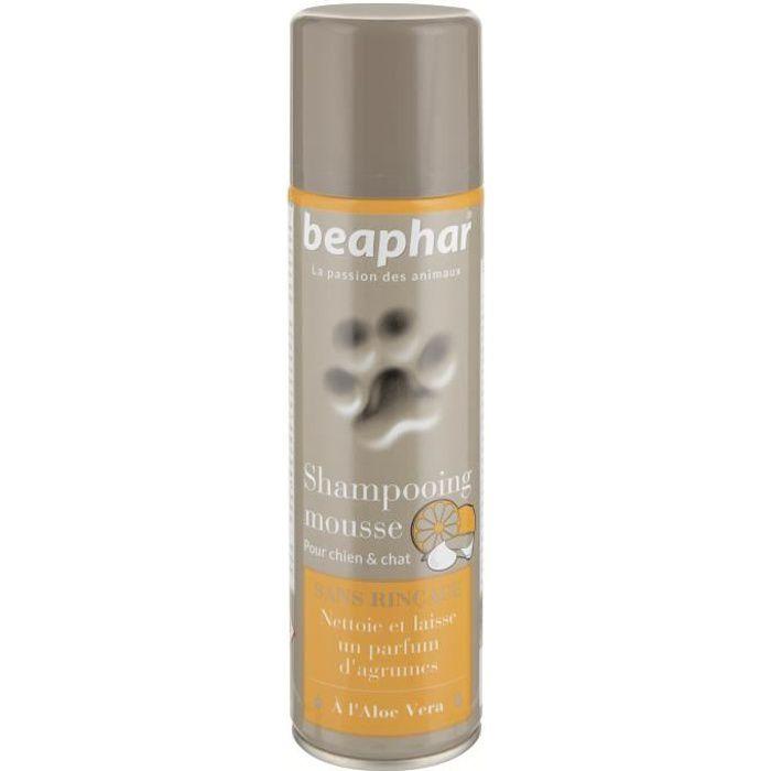 Beaphar Shampooing Mousse Sans Rinçage - Pour Chien Et Chat