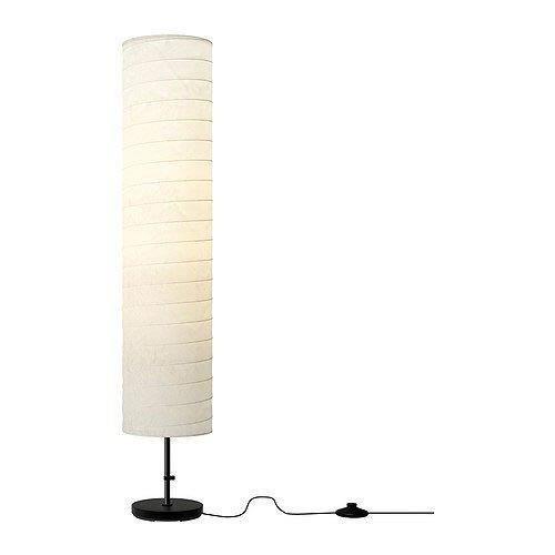 Ikea Lampadaire Papier Blanc Hauteur 116cm Achat Vente Ikea