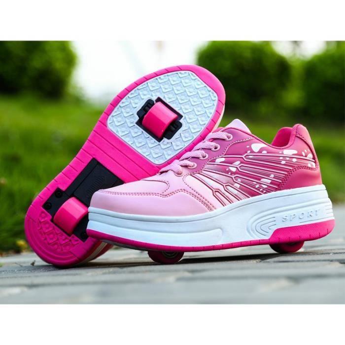 SKATESHOES Rouleau de garçons filles enfant Heelys Chaussures