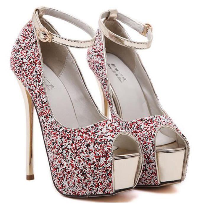 Chaussure à Talon Aiguille pour les Femmes jinFjK