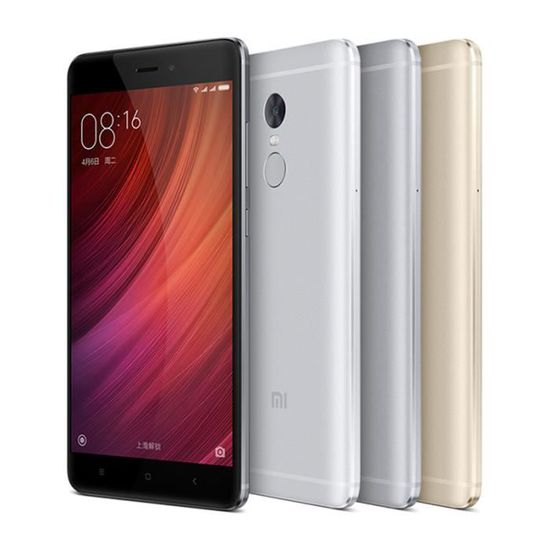 XIAOMI Redmi Note 4 Gris 64Go