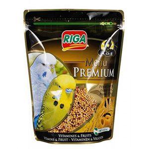 RIGA Menu Premium Perruches Vitamines et Fruits - Doypack - 800 g