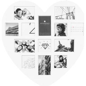 cadre photo en forme de coeur achat vente pas cher. Black Bedroom Furniture Sets. Home Design Ideas