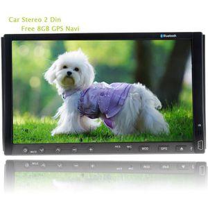 AUTORADIO Autoradio Double din 7''HD numérique Car Video CD