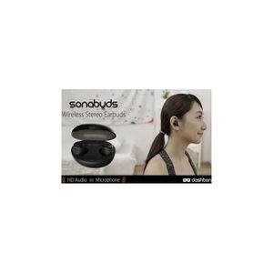 CASQUE - ÉCOUTEURS Sonabuds, vos écouteurs sans fil haute definition-