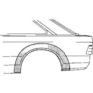 KIT CARROSSERIE Arc d'aile arrière gauche 2 portes pour Ford Escor