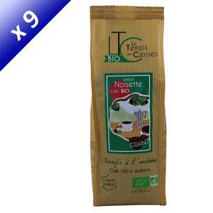 CAFÉ LE TEMPS DES CERISES Café en grains Bio Saveur Noi