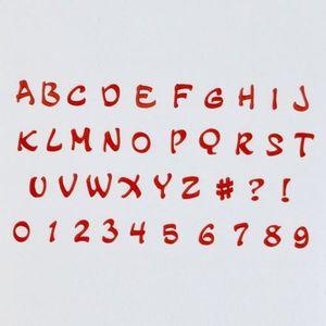 EMPORTE-PIÈCE  Emportes-pièces alphabet et chiffre Magic