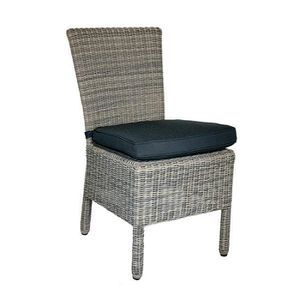 Chaise resine tressee gris - Achat / Vente Chaise resine tressee ...
