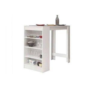 table de cuisine haute achat vente table de cuisine haute pas cher cdiscount. Black Bedroom Furniture Sets. Home Design Ideas