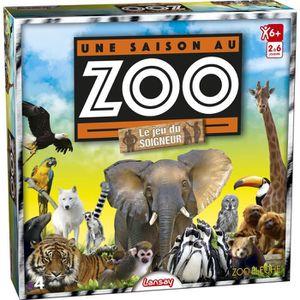 JEU SOCIÉTÉ - PLATEAU LANSAY Une Saison Au Zoo